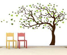Tree Wall Decals - Vinyl Stickers - Nursery Wall Decor