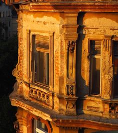Sunset in Budapest petunias and layers of history each with memories and stories