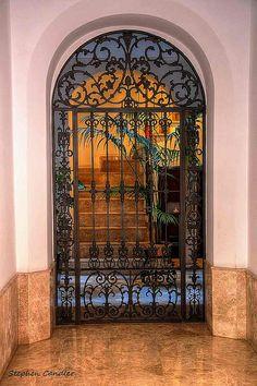 Cadiz, Spain  Doorway