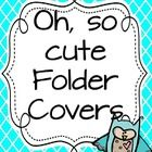 This freebie is a set of oh so cute folder covers! You can add your own text to make them unique to your students. There are many uses for the co...