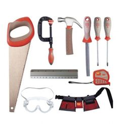 Red Toolbox Kids' 10-Piece Tool Set, $15 | Best Toys for Kids – Parenting.com