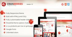 Cranberries - Responsive & Retina Magento Theme (Magento)