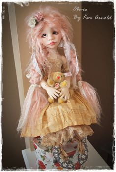 Olivia By Kim Arnold ( Msd Bjd ) New Release 2014