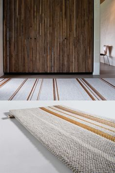Tribu, by features a self edge showcasing its refined simplicity in interior spaces. Office Floor, Natural Fiber Rugs, Custom Rugs, Bedroom Flooring, Sisal, Area Rugs, Spaces, Interior, Design