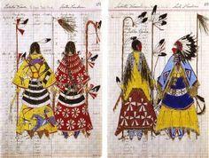 Lakota Ledger Art | Native American Ledger Art