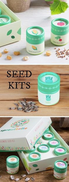 These beautifully designed, carefully sourced, and Made in the USA kits help you grow your very own veggies, wildflowers, or herbs. These seed kits make great gifts for gardeners.