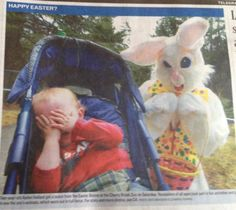ahh, it's the Easter Bunny... ON SMACK.