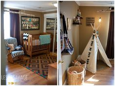 Amazing Tribal Themed Nursery by Leslie Savage Photography!