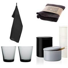 collage black white gray kitchen basics ems designblogg