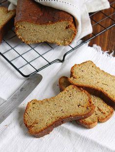 Nem acredito que é saudável!: Pão de linhaça e amêndoa sem glúten. Gluten free flaxseed and almond bread