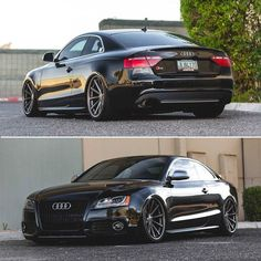 Audi coupe aired out on some Steven Vossen wheels could this setup be any cooler? Audi coupe aired out on some Steven Vossen wheels could this setup be any cooler? Audi A5 Coupe, Audi A5 Rs, Rs5 Coupe, Audi Rs5, Us Cars, Sport Cars, Carros Audi, Black Audi, Good Looking Cars