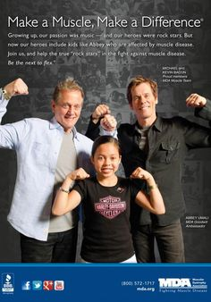 MDA Muscle Team members The Bacon Brothers are the next to flex for MDA in the fight against muscle disease.