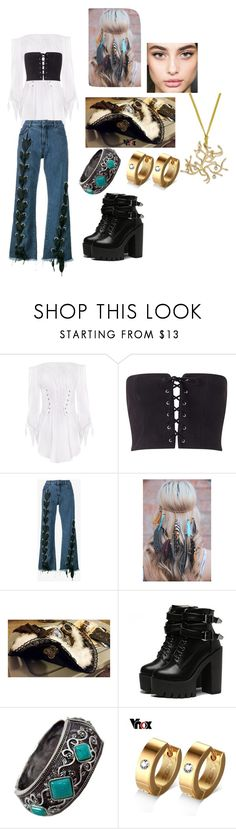 """Pirates sassafras"" by faithcreates ❤ liked on Polyvore featuring Miss Selfridge and Marques'Almeida"