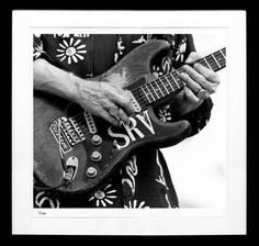 Stevie Ray Vaughan --- Photo by Tracy Anne Hart Stevie Ray Vaughan, Dean Guitars, Like A Storm, Black Electric Guitar, Life Without You, Jimmy Page, Def Leppard, Aerosmith, Cool Guitar