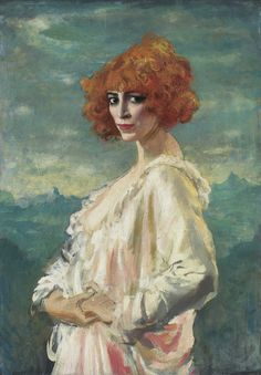 The Marchesa Casati by Augustus John from Art Gallery of Ontario