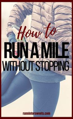 Learn how to run a mile with these 9 essential tips. Train to run your first mile if you�re a beginner, or simply get better at running the mile in no time! #runningamile #runamile Running A Mile, Running Workouts, Running Tips, Learn To Run, How To Start Running, How To Run Faster, Running Training Programs, Beginner Runner Tips, Beginning Running