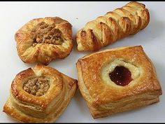 He made Two small Slits into Pastry's edges When he's Done? I Can't Wait To Try This! - Foood Style
