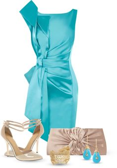 """""""Giant bow dress"""" by inmango ❤ liked on Polyvore"""