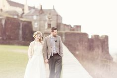 Scottish Castle Wedding Shoot