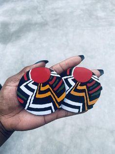 Diy Earrings Making, Diy Clay Earrings, Clay Jewelry, Etsy Earrings, Earrings Handmade, Jewelry Making, African Earrings, African Jewelry, Terracotta Jewellery Designs