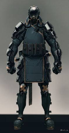 Future, Cyberpunk, Armor, MIlitary, Future Soldier, Cyborg, Futuristic, The specialist by Colorbind.deviantart.com: