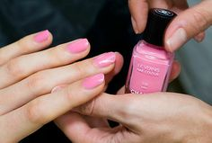 The perfect pinkk.