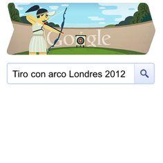London 2012 Google Doodle