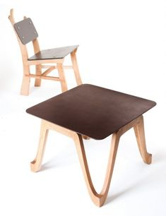 Furniture made from coffee