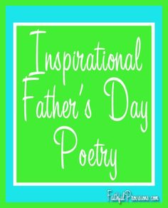 Inspirational Father's Day Poems for Cards | FaithfulProvisions.com