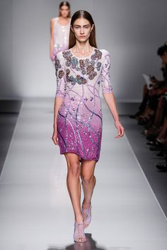 Blumarine Spring 2013 RTW - Review - Fashion Week - Runway, Fashion Shows and Collections - Vogue