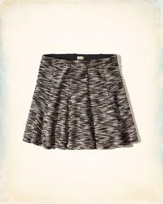 Boucle Skater Skirt