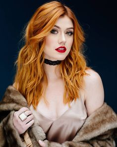 "108 To se mi líbí, 2 komentářů – Katherine McNamara (@mcnamarauniverse) na Instagramu: ""New outtake of Kat for Bellus Magazine on January 11th! •