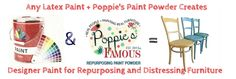"Eco-Friendly, Poppie's Paint Powder™was invented to save the  ""Do It Yourselfer"" time, money and effort. We are on a mission to help you turn those  old buckets of paint and outdated worn out furniture sitting around  your home into masterpiece's to be enjoyed for years to come."