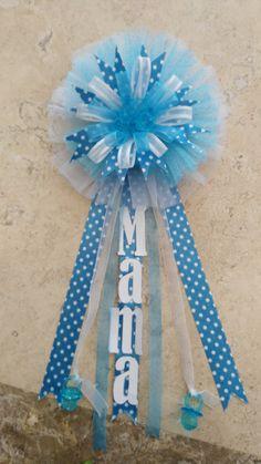 Distintivo para baby shower de fanya