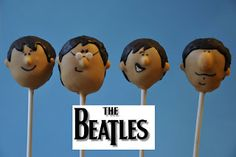 Little Miss Sweet & Spicy: The Beatles Cake Pops by Lil Cutie Pops
