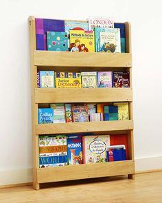 Tidy Books Children's Front Facing Bookcase - White Bookcases