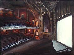 Orpheum Theater (Madison, WI) by Buoscio Paramount Theater, Mississippi, Piano, Chicago, Music Instruments, Fine Art, Painting, Musical Instruments, Painting Art