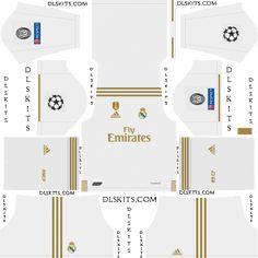 Real Madrid UEFA Champions League Kits for Dream League Soccer Real Madrid Third Kit, Real Madrid Home Kit, Barcelona Fc Logo, Barcelona Soccer, Real Madrid Logo, Real Madrid Players, Real Madrid Champions League, Uefa Champions League, Soccer Kits