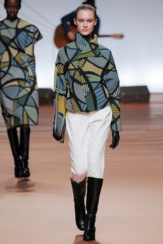 Ethnic Fusion --- Fall 2014 Ready-to-Wear - Issey Miyake