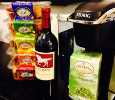 Coffee, wine, tea- each go perfectly with Cooper Street Cookies!