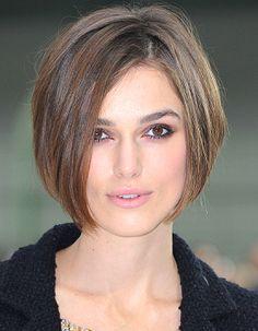 Keira Knighly - Bob haircut
