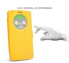 Nillkin Θήκη Smart Cover Preview - Κίτρινο (LG G3) - myThiki.gr - Θήκες Κινητών-Αξεσουάρ για Smartphones και Tablets - Χρώμα κίτρινο