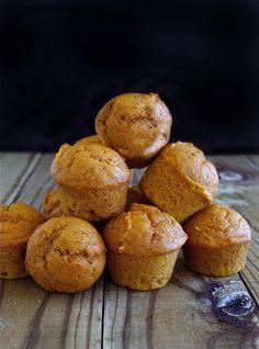 Mini Pumpkin Muffins | Deliciously Declassified