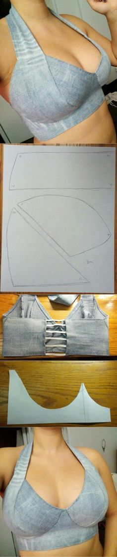 Halter top ideas...<3 Deniz <3 by kari