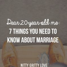 Today s post is from our friend, Chris duMond, who blogs letters to his 20-year-old self at ChrisduMond.com. Here are some awesome truths he has learned about marriage over the years: Dear 20-Year-Old Me, In 10 years, you ll be married tothe most am...