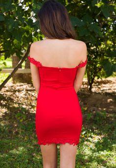 I've Got You Dress - Red