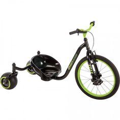 Tricycle Bike Riding Toy 3 Wheel Huffy Green Machine Drift Trike Front Brake New Big Wheel Trike, Tricycle Motorcycle, Drift Trike, 3rd Wheel, Kids Ride On, Ride On Toys, Outdoor Toys, Front Brakes, Road Bikes