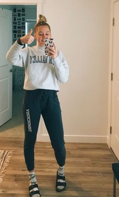 30d1e9ac How to Wear Sweatpants Fashionably in 2019 | ADIDAS PANTS | Cute ...