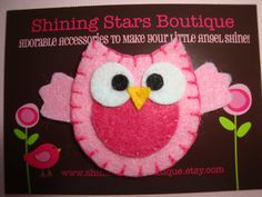 I just want to make Owls like this for something!  A craft fair maybe?!