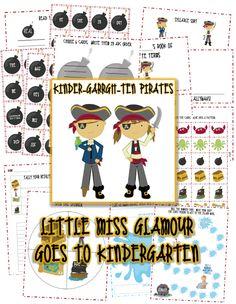 Little Miss Glamour Goes to Kindergarten: Kinder-garrgh-ten Pirates!